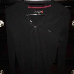 Guess Black Long sleeve size small